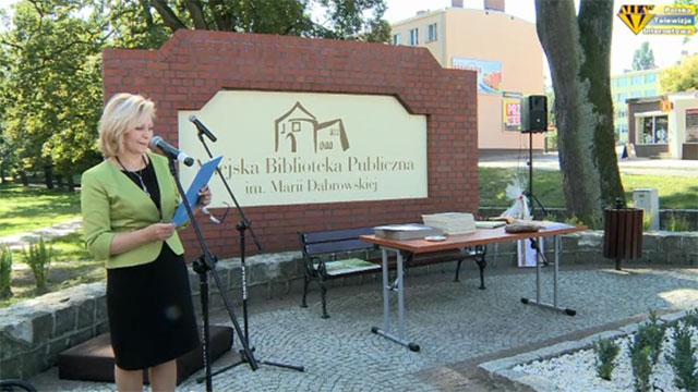 Otwarcie wyremontowanej biblioteki w Choszcznie